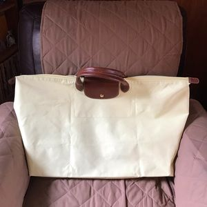 Authentic Longchamp large tote bag